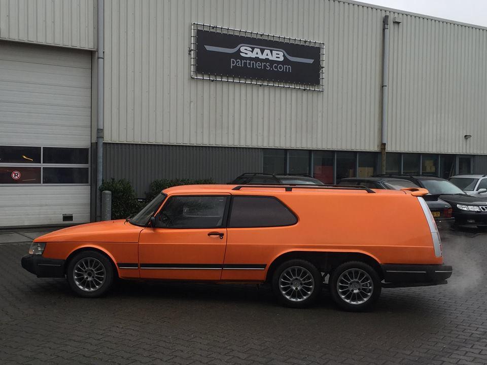 Saab 900 - Volvo 855 6x6