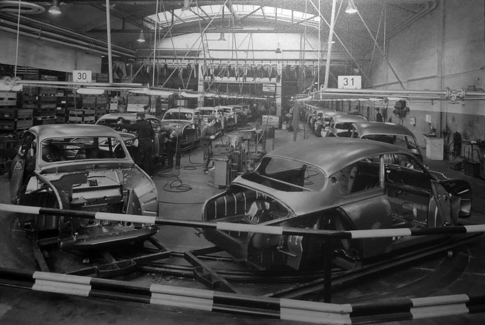 Old Saab factory
