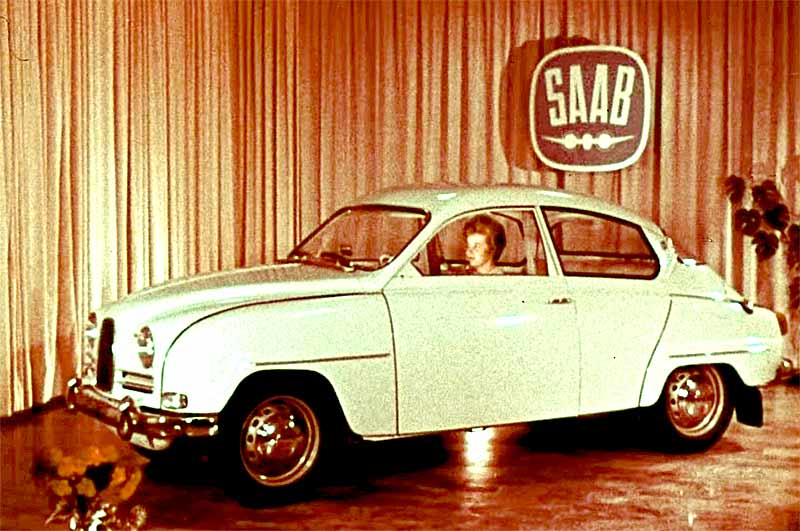1964 Saab cars vintage movie