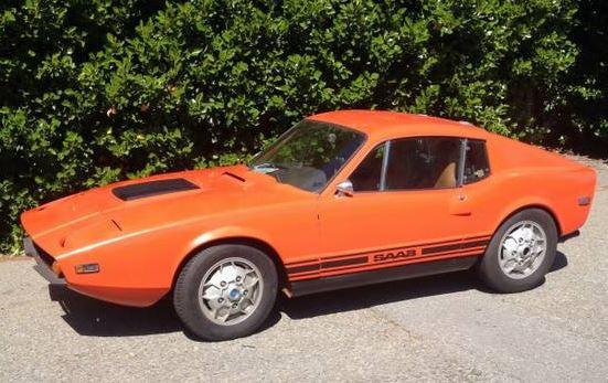 Nice 1972 Saab Sonett III on Cragilist for $8,000
