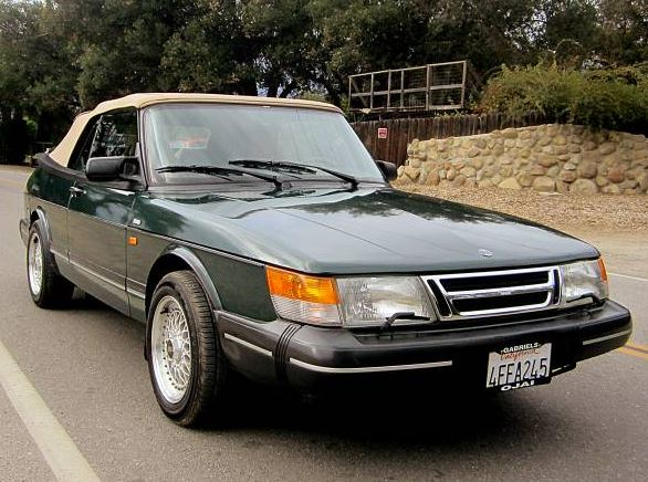 1992 Saab 900S Convertible on Craiglist