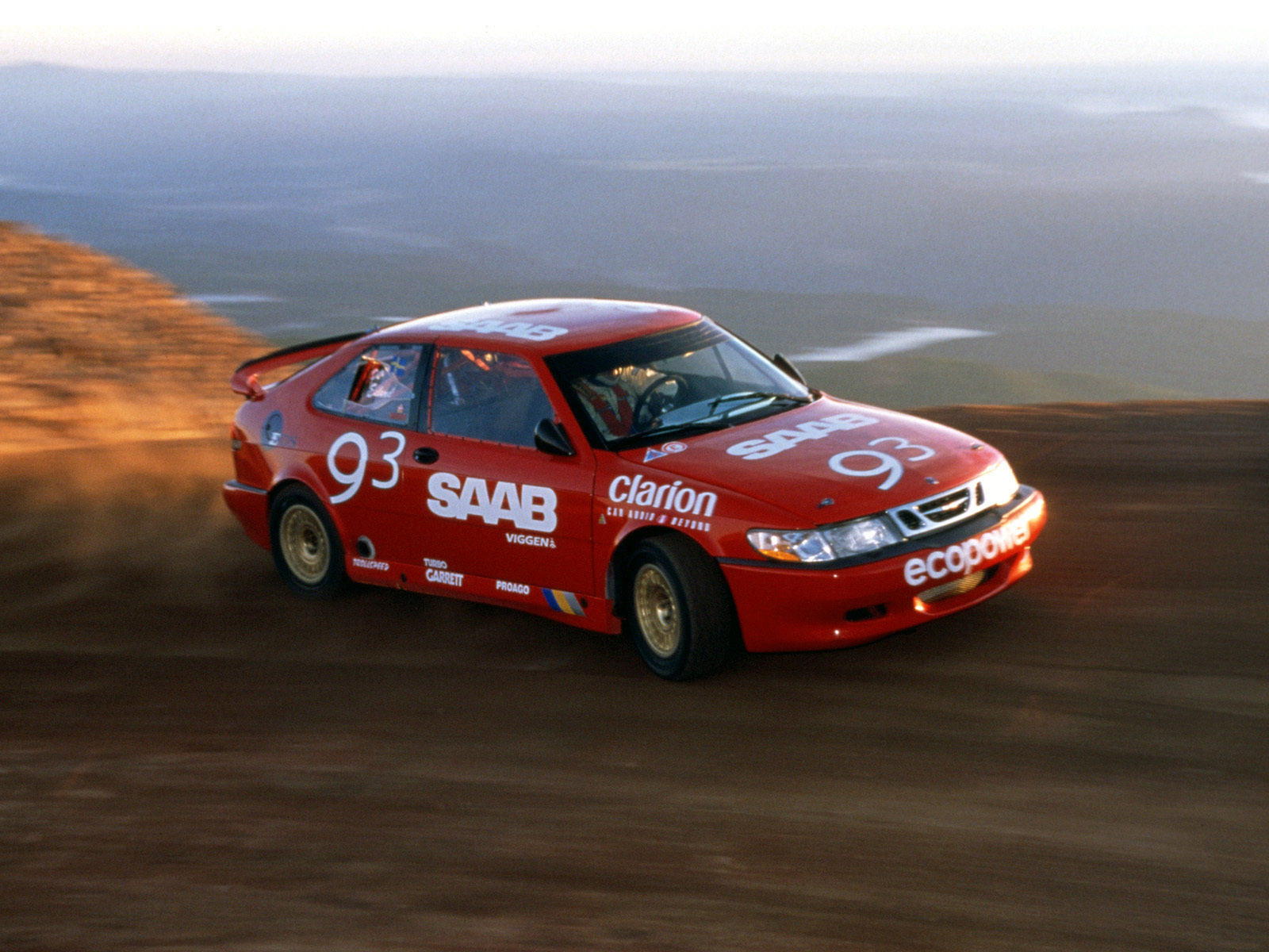 how per eklund won 2002 pikes peak in saab 9 3 viggen. Black Bedroom Furniture Sets. Home Design Ideas