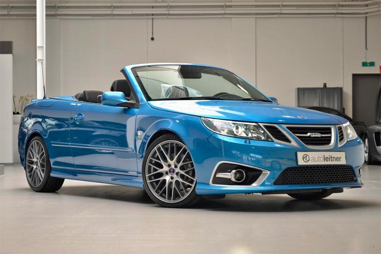 no 1 sky blue edition saab 9 3 convertible seek out her. Black Bedroom Furniture Sets. Home Design Ideas