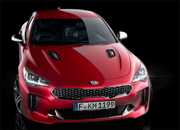 2018 Kia Stinger GT - aggressive design