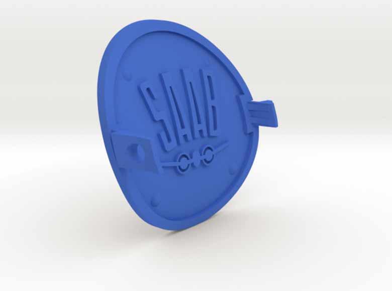3D printed Saab spare parts