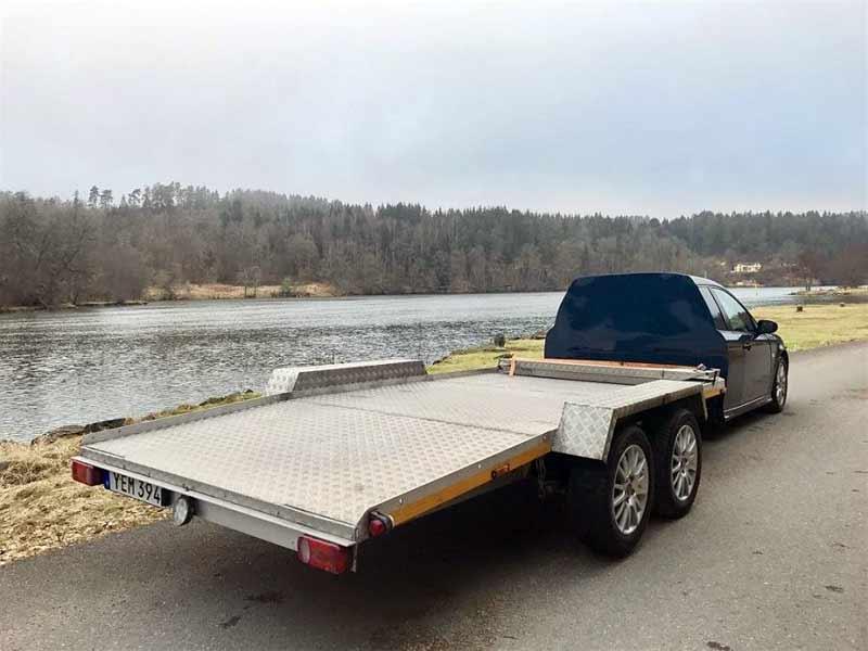 6x6 Saab car transporter (Solstad)