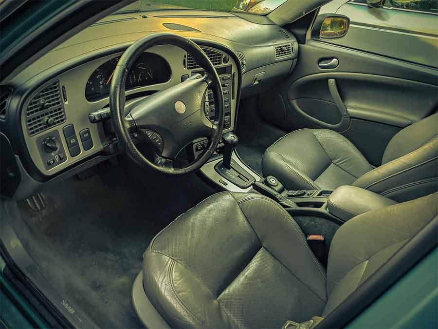 Saab 9-5 Aero interior
