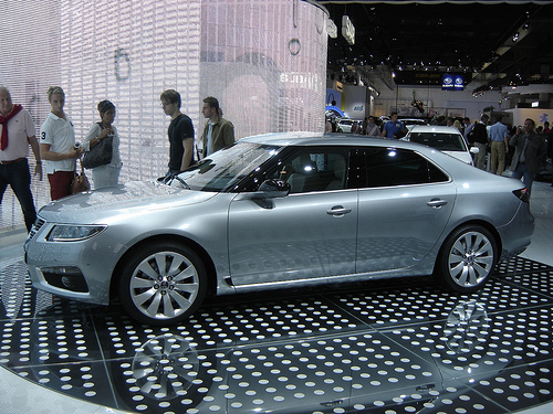 """Blogger on """"The New Saab 9-5"""" Test Drive Event"""