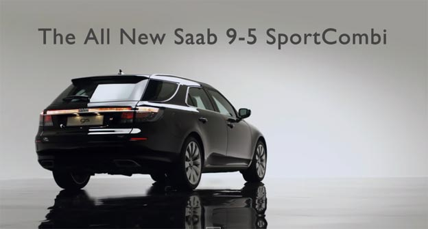 All New Saab 9-5 SportCombi Ad
