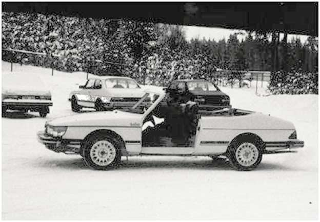 Saab 900 Convetible