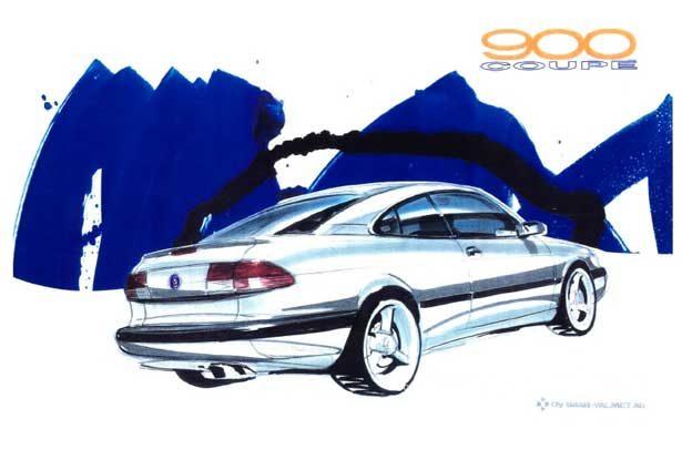 Saab 900 Sport Coupe