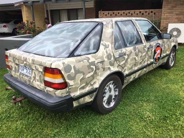 Saab 9000 rally