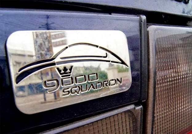 Saab 9000 Squadron Badge