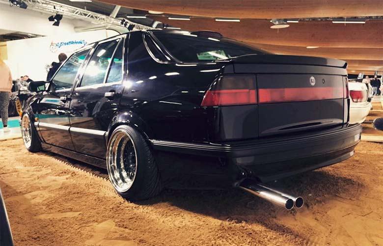Saab 9000 Stance