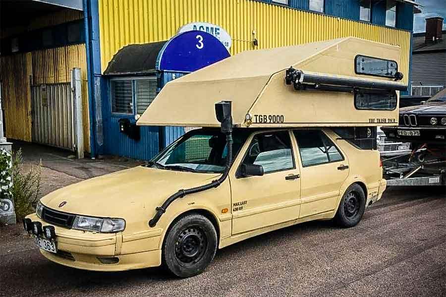 Saab 9000 Toppola