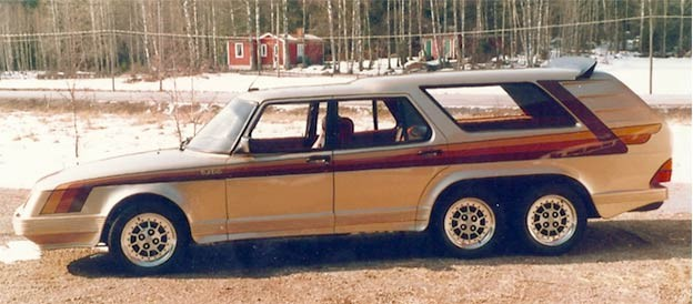 Saab 906 Turbo 6-wheel