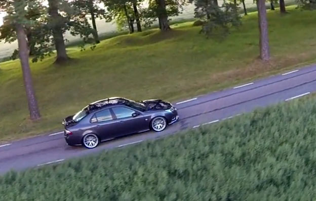 Beautiful  Saab 9-3 Aero Griffin short video