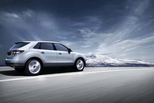 Saab 9-4X world debut in November