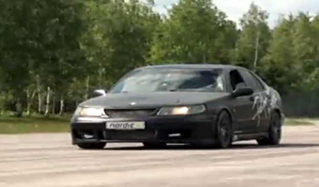 Saab 9-5R 815hp 900nm - Insanely fast!