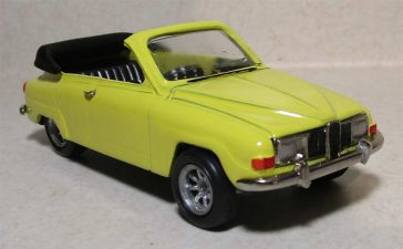 Saab 96 V4 Cabrio Scale model by Autodrome