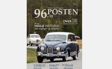 96&95-Posten, the new Special Edition of 9-Posten with articles only about Saab 95&96 (M60-M80), is soon available in the GSV.no webshop.