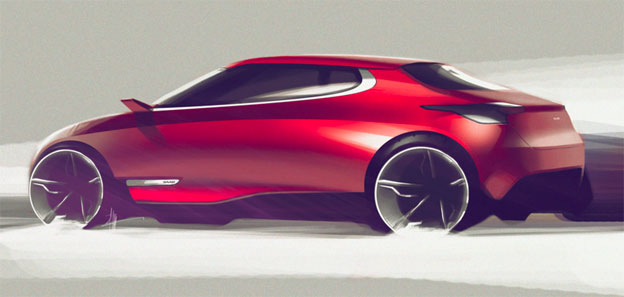 Design Concept - Saab 9TWO