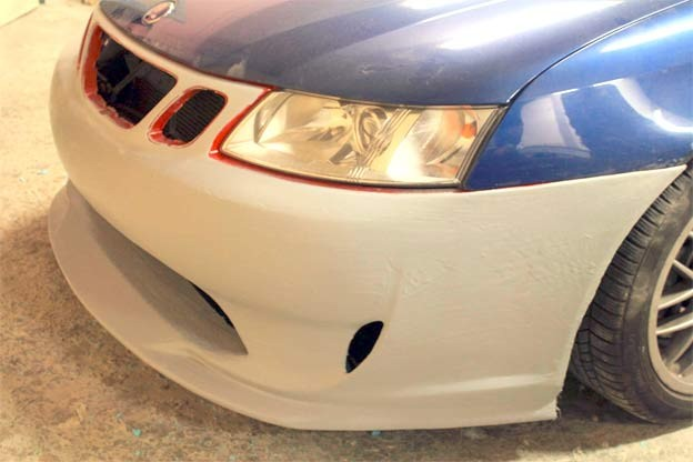 A-Zperformance Tuning Bodykit Prototype