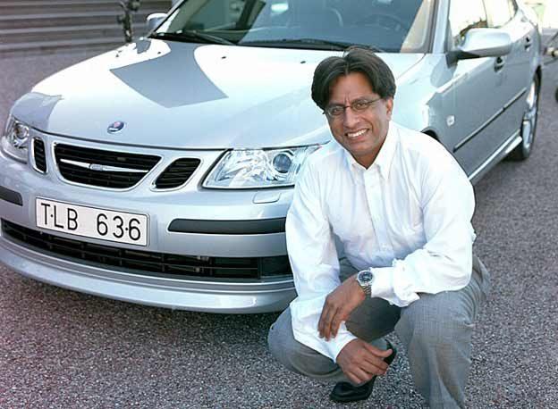 Aamer Mahmud, Chief Designer Saab 9-3