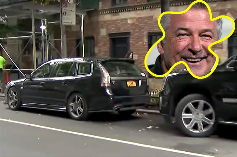 Alec Baldwin vs Saab Turbo X