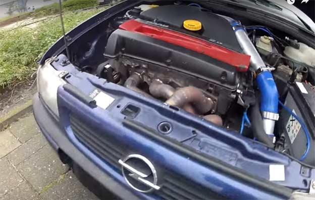 Opel Astra B204 Saab Holset HX35 Turbo