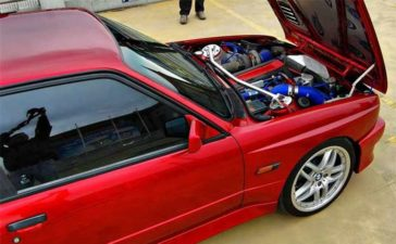 "Saab B234 in BMW ""Aero"" Drifter"