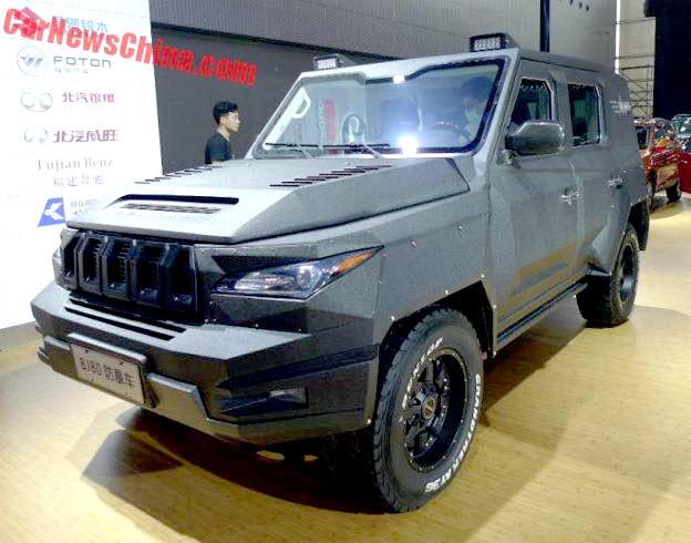 Saab based BJ80- armored SUV