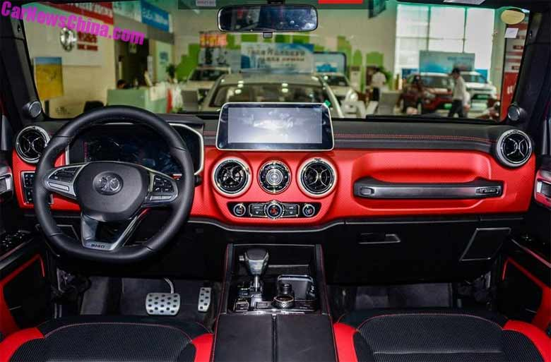 Baic BJL40 PLus interior