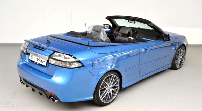 Unique and Beautiful Saab Convertible