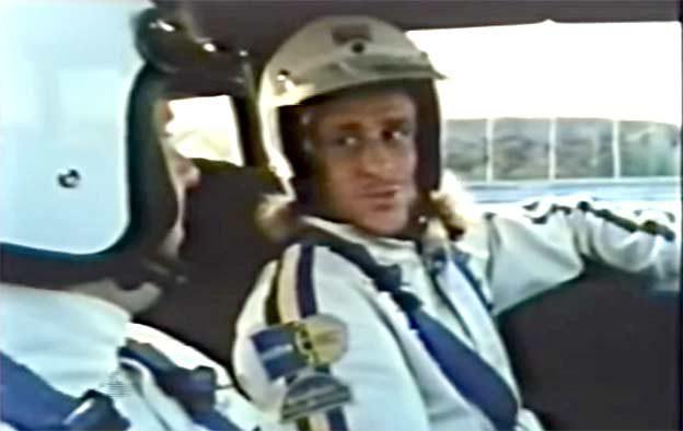 Bjorn Borg & Stig Blomqvist in Saab 900 Turbo