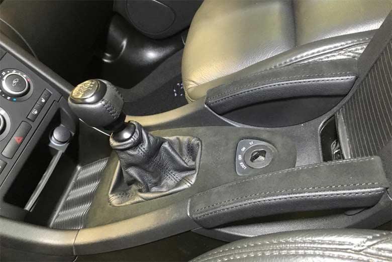 Black Turbo interior