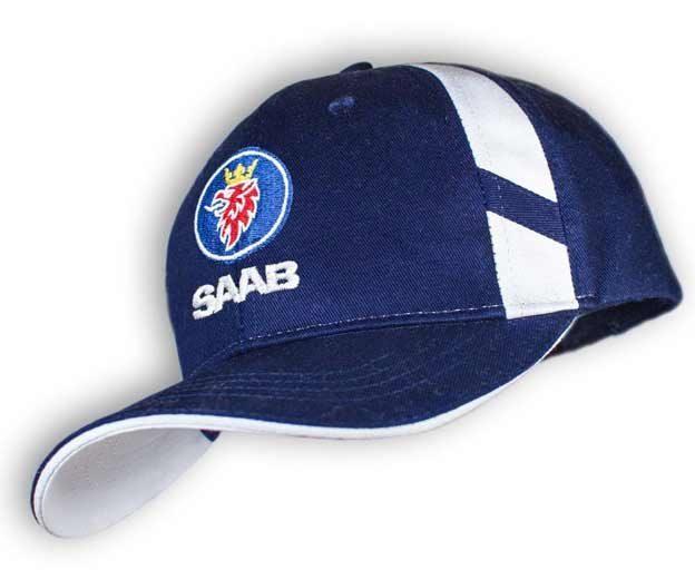 Dark Blue SAAB unisex Baseball Cap Hat.