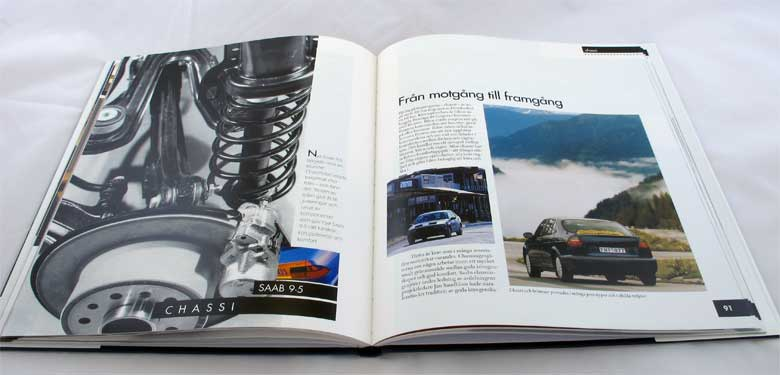 Book about Saab 9-5