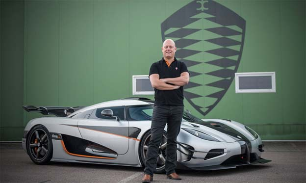 Koenigsegg answers questions about Saab