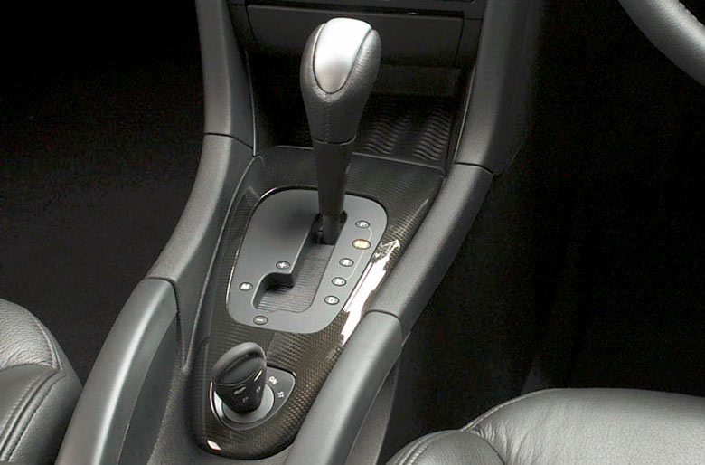 Saab TX Carbon fiber effect interior trim
