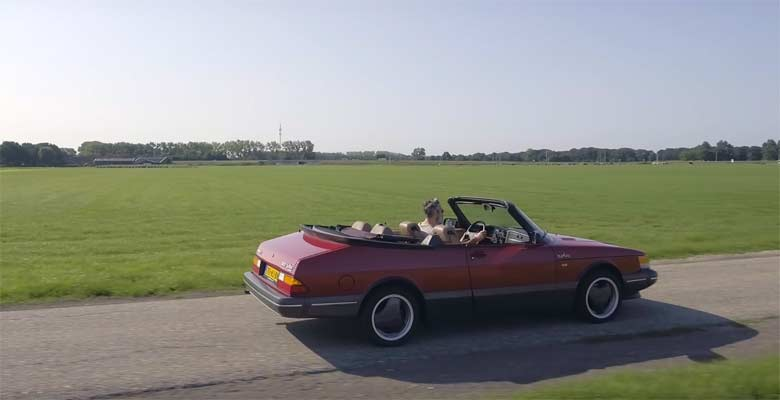Classic Saab 900 Turbo Convertible