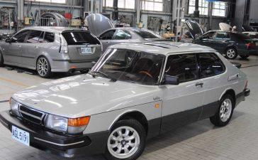 Classic Saab 900 Turbo Coupe