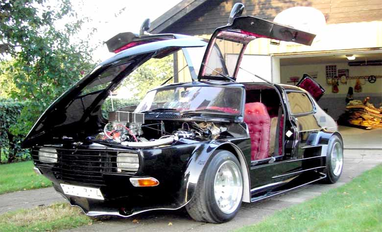 Super Custom Saab 99