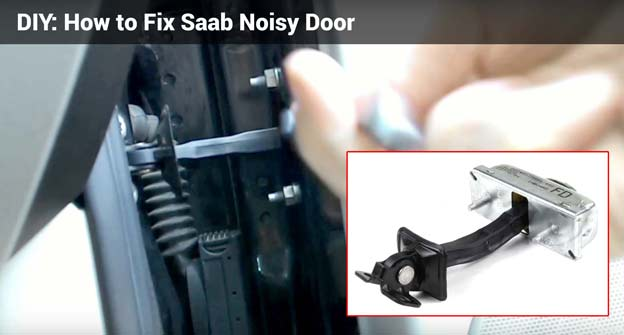 DIY: How to Fix Saab Noisy Door