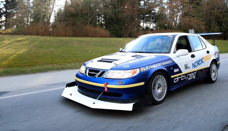 DRtuned Racing team Saab 9-5