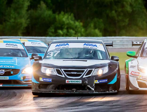 Second Podium for Saab 9-3 in STCC!