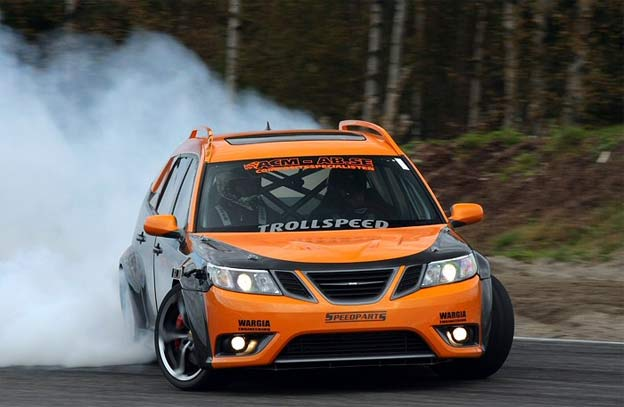 Drift Saab 9-3 Sportcombi