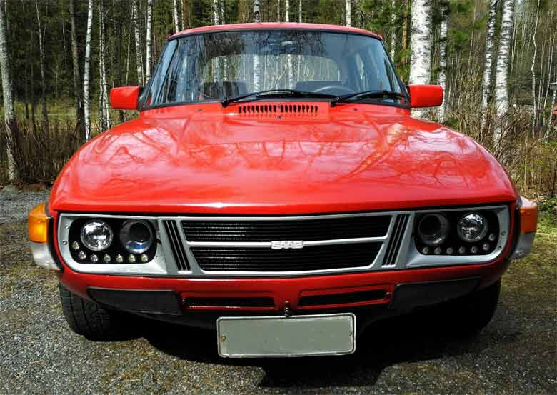 E-Saab 99 - From the Scrapyard to the Electric Car