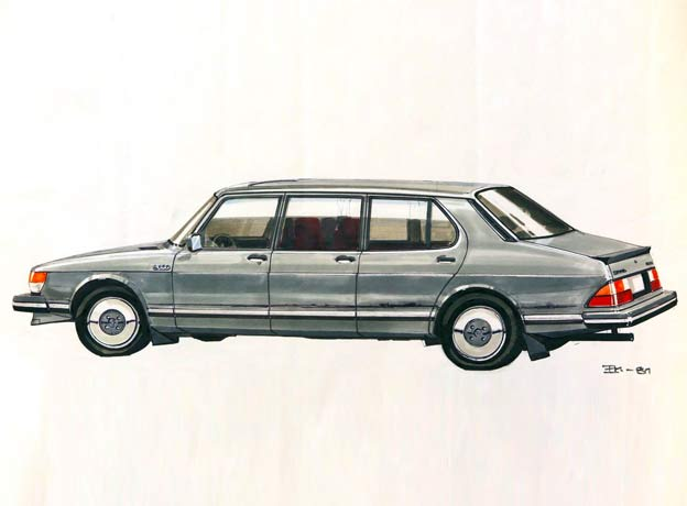 Saab 99 Finlandia - Extended versions of the Saab 99 and 900