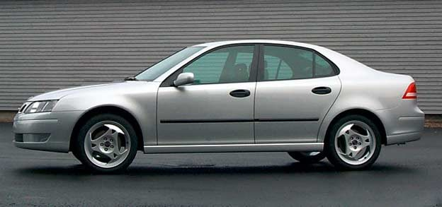Final Saab 9-3 Design Approval Model - November 1998